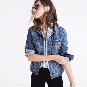 Madewell Denim Jean Jacket in Pinter Wash
